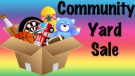 AA Community Yard Sale