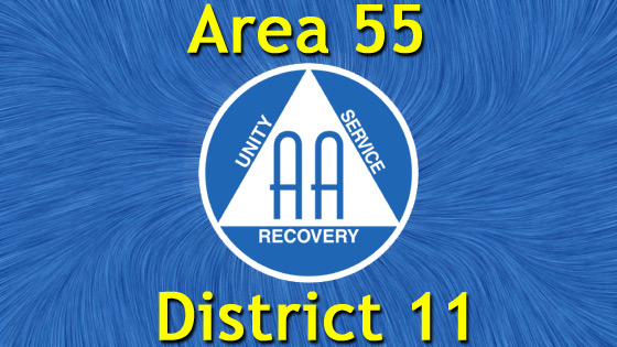 Alcoholics Anonymous - Area 55 - District 11