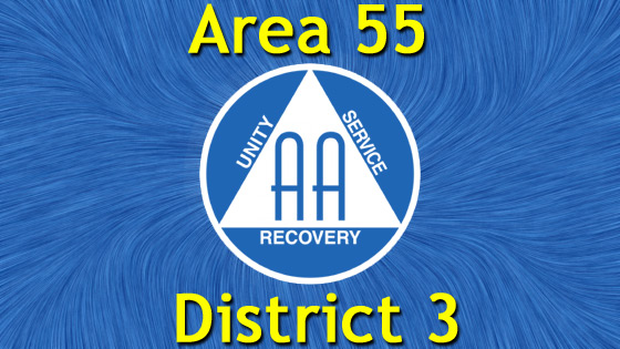 Alcoholics Anonymous - Area 55 - District 3