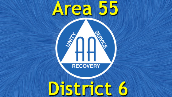 Alcoholics Anonymous - Area 55 - District 6