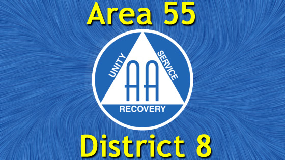 Alcoholics Anonymous - Area 55 - District 8