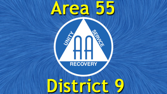 Alcoholics Anonymous - Area 55 - District 9