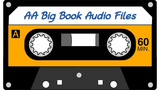 AA Big Book Audio Files MP3