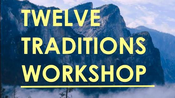 AA Twelve Traditions Workshop - NOCYPAA
